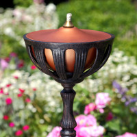 Garden Flame - Antique Bronze