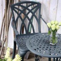 Rose Table Set - Slate (2 seater set)
