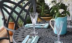 2 persoons tafel MIA in Leigrijs