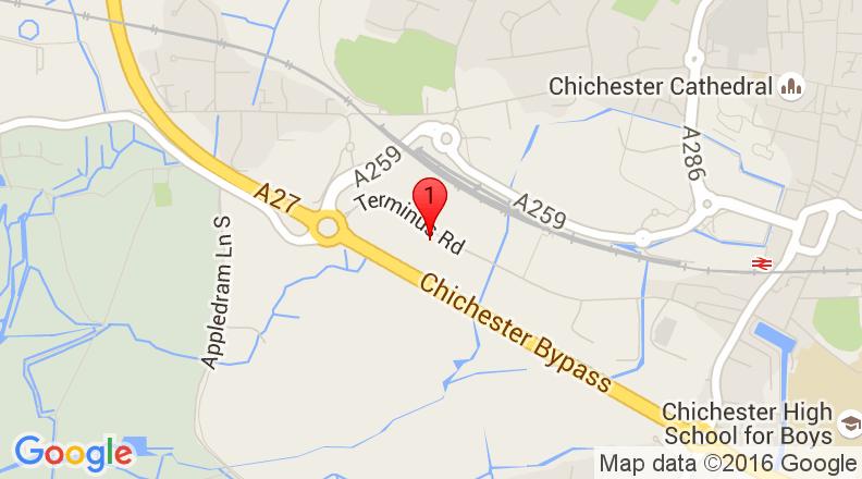 Google Map of 50.832654,-0.794835
